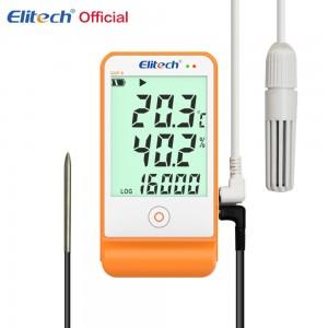Регистратор данных температуры и влажности Elitech GSP-6
