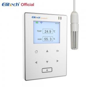 Регистратор данных температуры и влажности Elitech RCW-800 WIFI