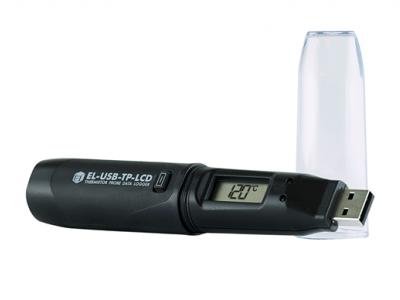 Регистратор данных с термистора EL-21CFR-TP-LCD+
