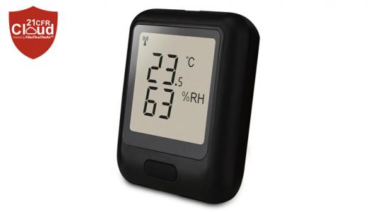 Регистратор данных температуры, влажности и точки росы EL-WiFi-21CFR-TH