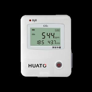 Регистратор данных CO2, температуры и влажности Huato S653