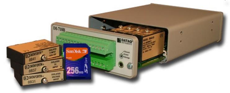Многоканальная система сбора и регистрации данных DataQ DI-718B-US