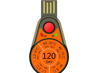 Одноразовый USB-регистратор температуры Elitech RC-55