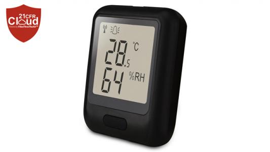 Регистратор данных температуры, влажности и точки росы EL-WiFi-21CFR-TH+ (высокой точности)