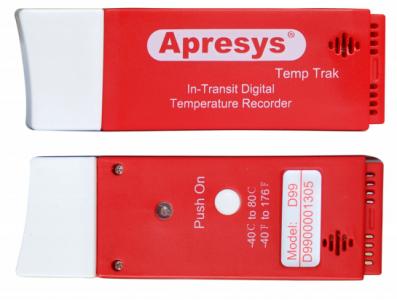 Одноразовый USB регистратор температуры Apresys