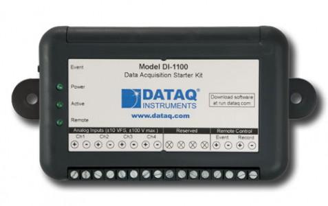 Многоканальный регистратор напряжения DataQ DI-1100