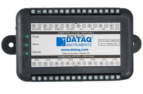 Многоканальный регистратор напряжения DataQ DI-1110