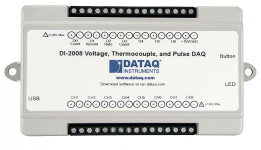 Многоканальный регистратор данных DataQ DI-2008