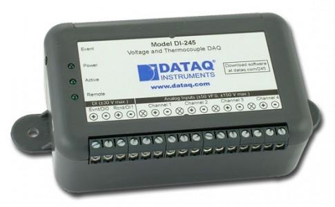Регистратор напряжения и данных с термопары DataQ DI-245