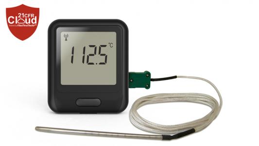 Регистратор данных с термопары EL-WiFi-21CFR-DTC