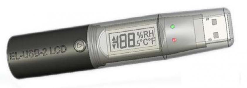 Регистратор данных влажности, температуры и точки росы EL-USB-2-LCD
