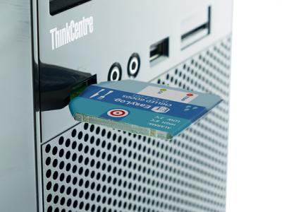 Одноразовый USB регистратор температуры и влажности EL-CC-2-004