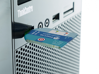Одноразовый USB регистратор температуры и влажности EL-CC-2-006