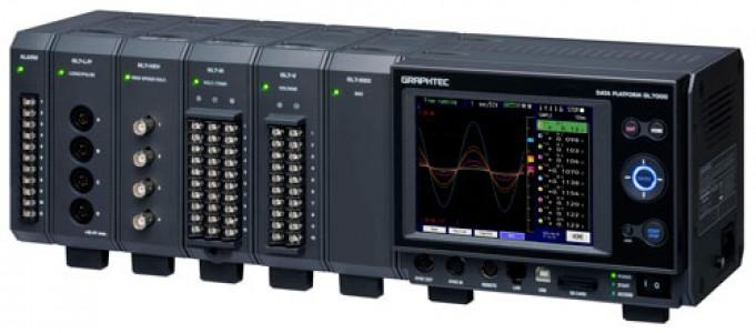 Многофункциональный модульный регистратор данных Graphtec GL7000