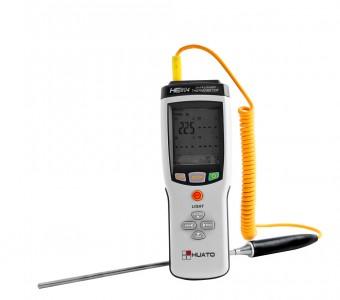 Промышленный многоканальный регистратор температуры Huato HE800