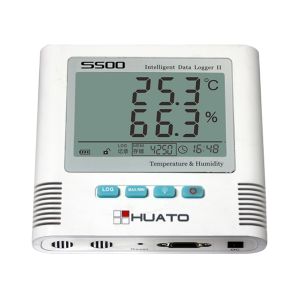 "Система онлайн мониторинга температуры и влажности Huato S500 серия RS485 - ООО ""ЛНК"""