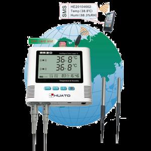 Регистратор температуры Huato S500 серия GSM