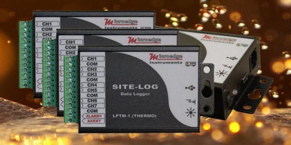 Автономный регистратор данных термистора SITE-LOG LPTH-1