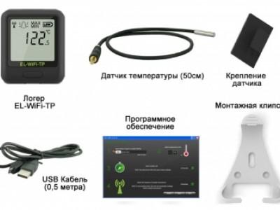 "WiFi логгер температуры EL-WiFi-TP - ООО ""ЛНК"""