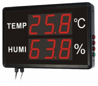 "Светодиодное электронное табло температуры и влажности Huato HE230A -ООО ""ЛНК"""
