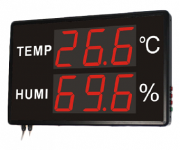 "Светодиодное электронное табло температуры и влажности Huato HE250A - ООО ""ЛНК"""