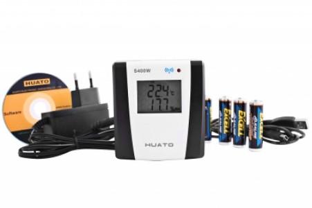 Беспроводной регистратор температуры и влажности Huato S400W-TH
