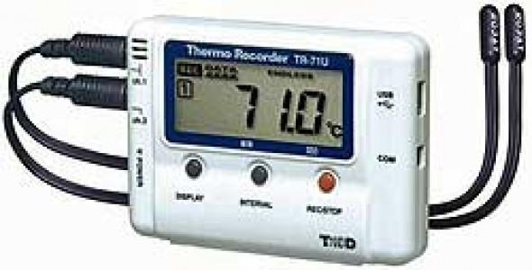Двухканальный регистратор температуры T&D TR-71Ui,72Ui